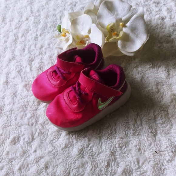 Nike Other - Nike snickers pink purple girls toddler